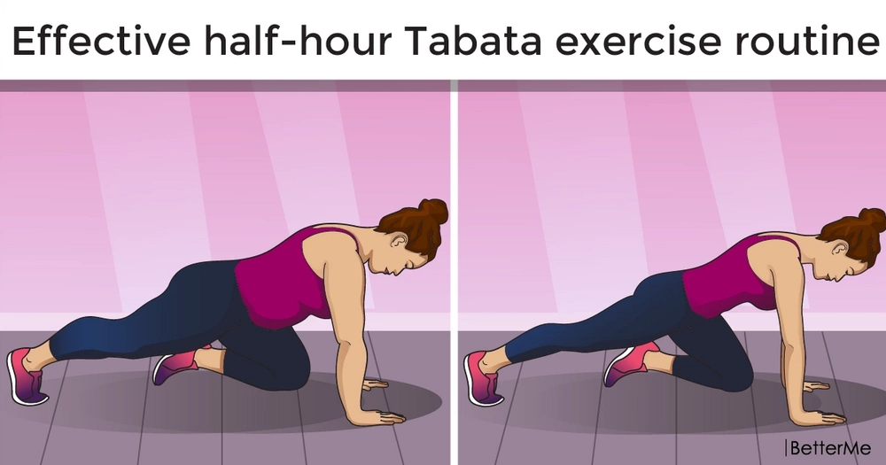 Effective half-hour Tabata exercise routine