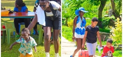 Kenya's richest singer, Akothee has a new member in her family