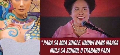 Heart Evangelista recalls Miriam Defensor Santiago's advice for the singles this V-day