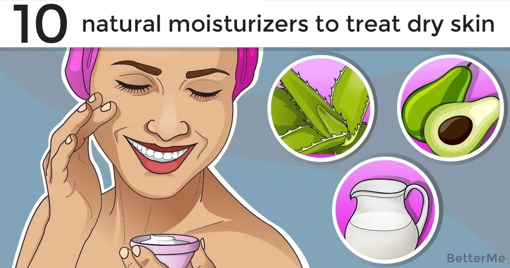 10 natural moisturizers that can help you treat dry, thirsty skin