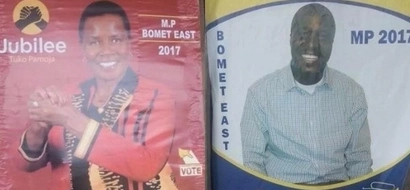 TROUBLE for family as mother and son fight over parliamentary seat