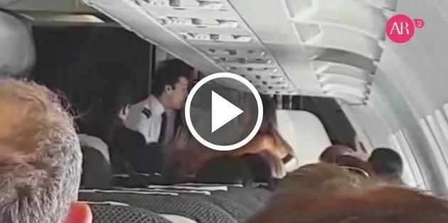 Modelo sufrió ataque de pánico en pleno vuelo