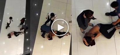 UPDATE: (VIDEO)17-year-old senior high leaves shoppers traumatized after jumping off from 2nd floor of SM due to 'love problems'