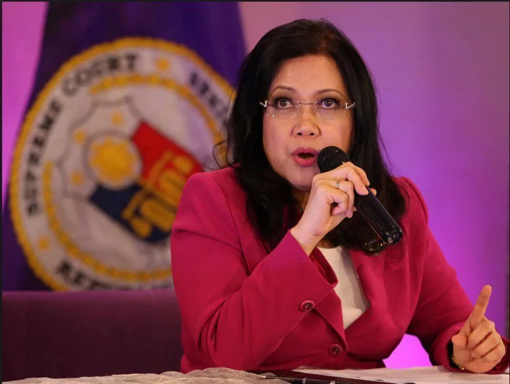 Chief Justice Sereno explains why SC is silent on death penalty issue
