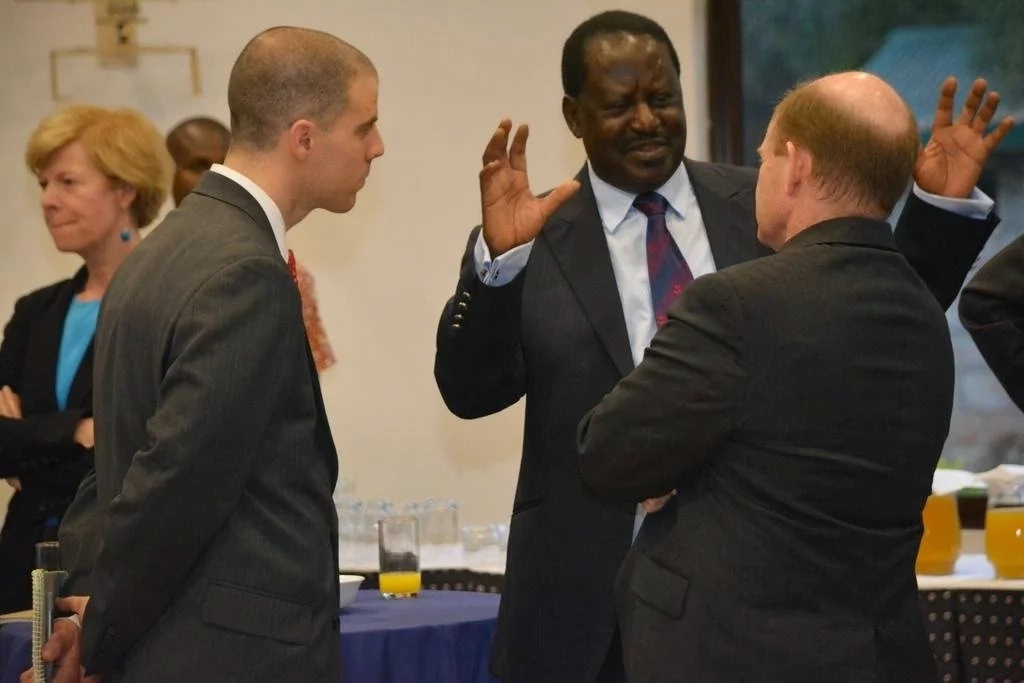 Raila Odinga's mastery of German language is impeccable