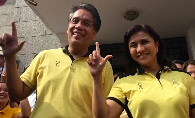 Roxas, Robredo attend Cebu mayor oath-taking, thank voters