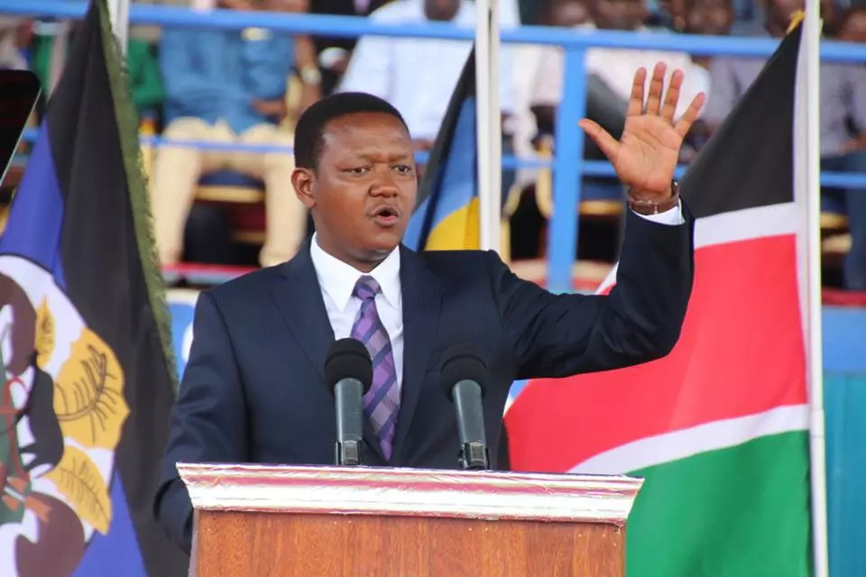 Just in: Kalonzo kicks out Afred Mutua and 4 other MPs out of Wiper movement