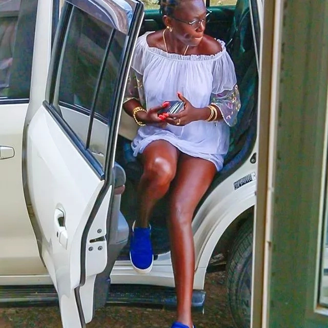 Rich men will eat you and leave you as poor as they found you - Singer Akothee warns materialistic ladies