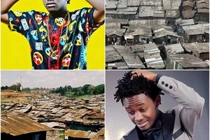 Bahati walking in the streets of Mathere like a TRUE PRESIDENT is this why he was robbed? (Video)