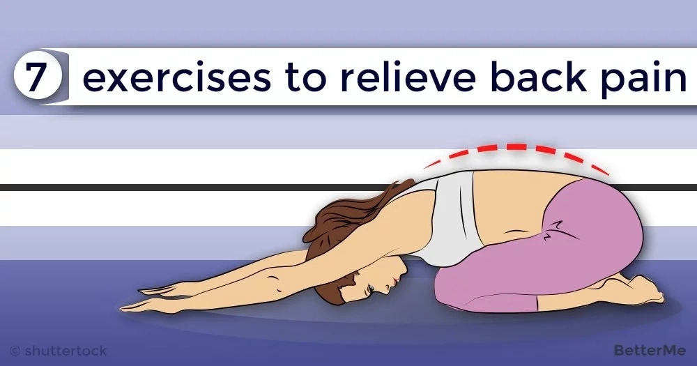7 exercises to relieve back pain