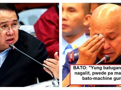 PNP Chief Bato fires back against Senator Gordon for calling him 'Bato-gan': 'Pag sila magsalita, sila lang talaga ang magaling'