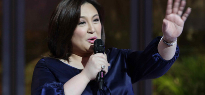 Sharon Cuneta is back amidst the rumors involving Kiko Pangilinan