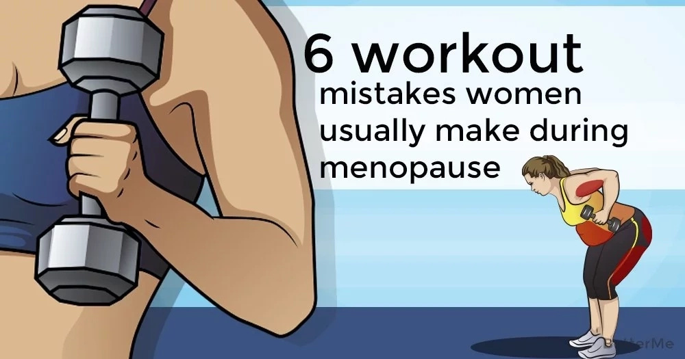 6 workout mistakes women usually make during menopause