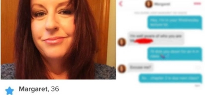 "Guy Gets Matched With His Professor on Tinder and Ready To ""D Her Down for an A"" (Pics)"