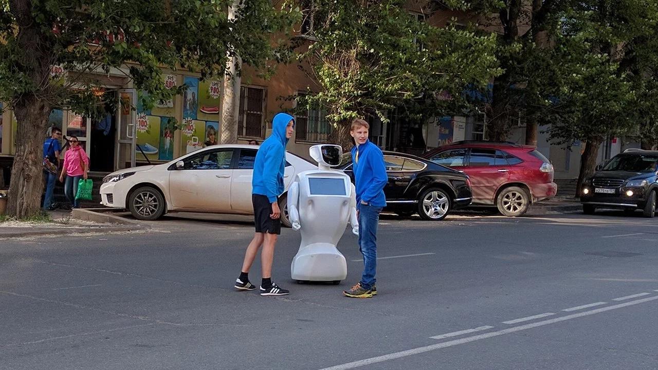 Robot escapa de Laboratorio ruso