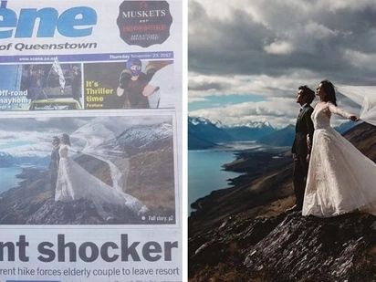 Bongga! Anne Curtis' wedding photo wows in New Zealand paper's front page
