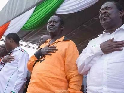 Raila sasa amiminiwa pongezi kwa kukomesha kuapishwa kwake