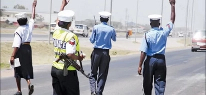 Questions raised after two traffic police officers are arrested with KSh 18,000