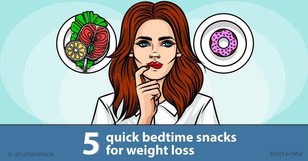 5 quick bedtime snacks for weight loss