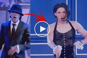 """""""Spider-Man: Homecoming"""" actor Tom Holland showed off his hidden talent at """"Lip Sync Battle."""" Watch his Rihanna's """"Umbrella"""" dance number!"""