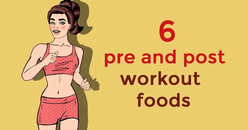 6 before and after workout foods that can improve the weight loss process