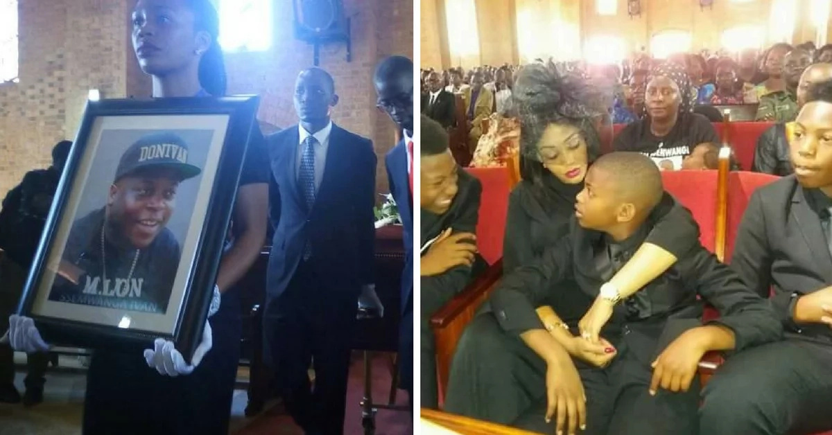 Diamond Platnumz baby mama ex-husband dies, buried in million-dollar casket (photos)