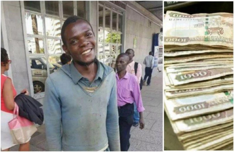 The good coming the way of street kid who picked and returned GHS9k to stranger