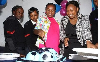Pangani pregnant police officer gets surprise baby shower
