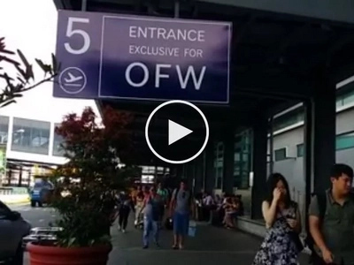 Di na sila pipila pa! OFWs enjoy VIP exclusive entrance at NAIA