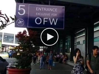 Di na sila pipila pa! OFWs enjoy VIP exclusive entrance at NAIA