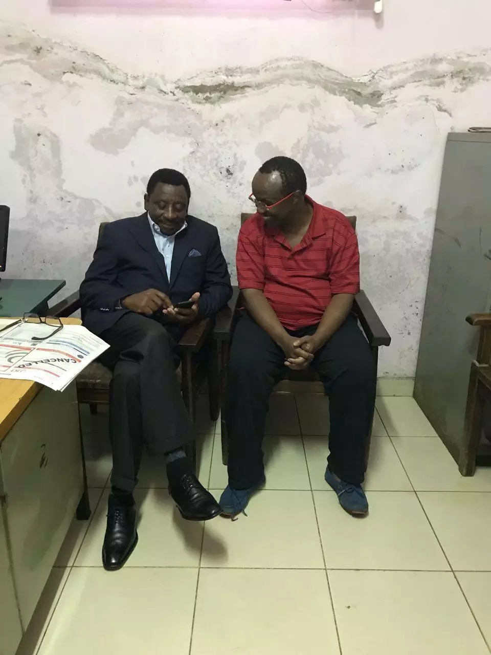 First photos of NASA strategist David Ndii emerge hours after dramatic arrest