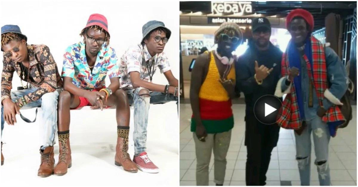 Nyota wa H_art the Band 'wapoteza sauti' wakiwa majuu