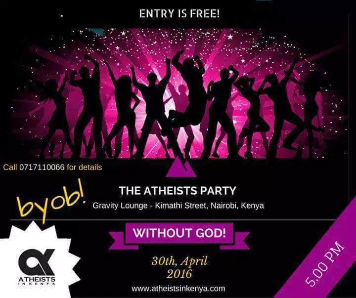 See details of an ungodly party set to take place in Nairobi