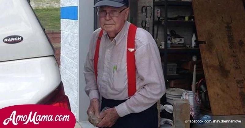 Este hombre de 86 años estuvo recolectando dinero durante más de 3 décadas
