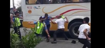 Parang Pacquiao-Horn lang! Driver punches MMDA in P. Tuazon