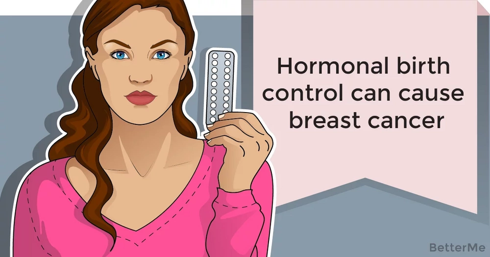 Hormonal birth control can cause breast cancer