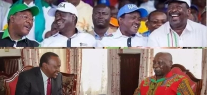 KANU in 'TOTAL MESS' after Uhuru visited retired President Daniel Moi