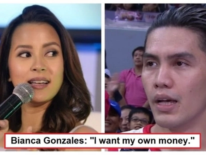 """To each his own!"" Bianca Gonzalez reveals how she and JC Intal manage their earnings and household finances"
