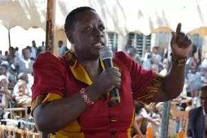 Ruth Odinga speaks of impending danger a day after her house was raided
