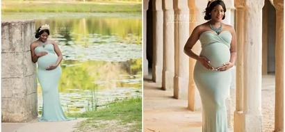 Magical! This Disney princess-themed MATERNITY photoshoot will take your breath away (photos)
