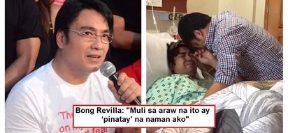 Bong Revilla slams people who spread fake news that he has died of heart attack: 'buhay na buhay po ako!'