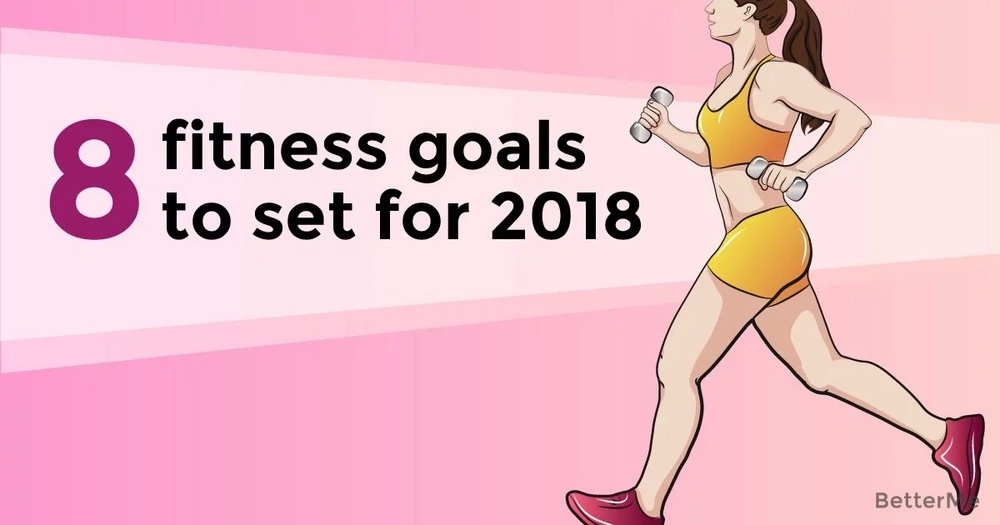 8 fitness goals to set for 2018