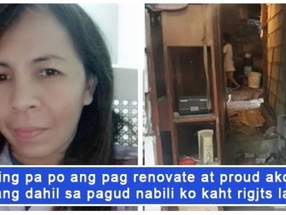 Nakaka inspire talaga! An OFW shares a glimpse her hard-earned property