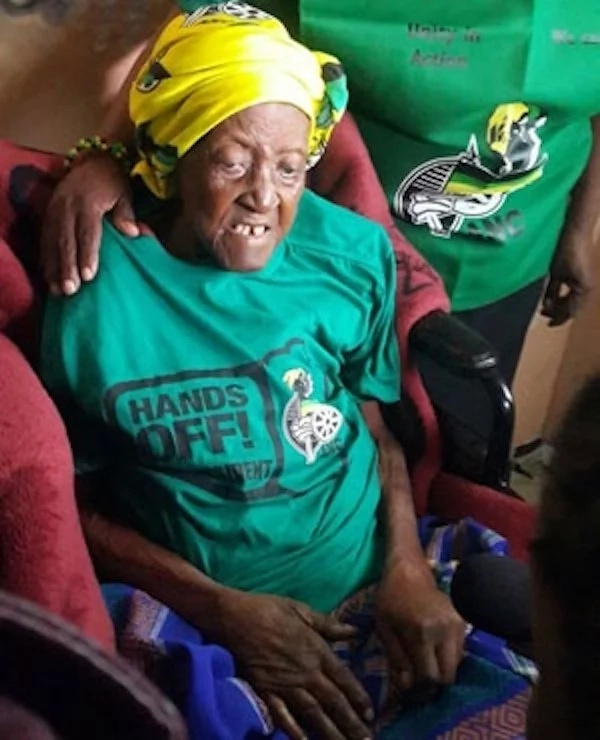 It is claimed that Johanna Ramatse (pictured) 134 years old (photos)