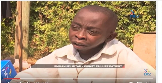Kiambu man who has lived for 9 years without his two kidneys