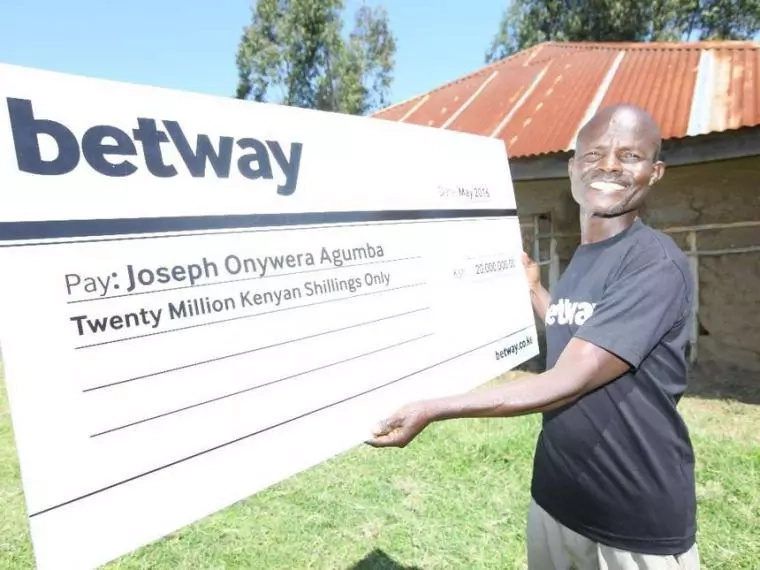 Kisumu man wins KSh 20 million Betway jackpot