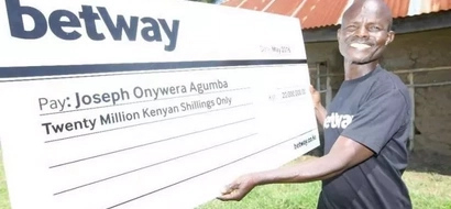 KSh 20 million Betway jackpot winner chases away wife, gives reason why