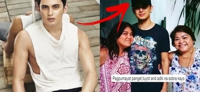 James Reid's mother explains to bashers why he has gotten slimmer – it isn't because of drug use!