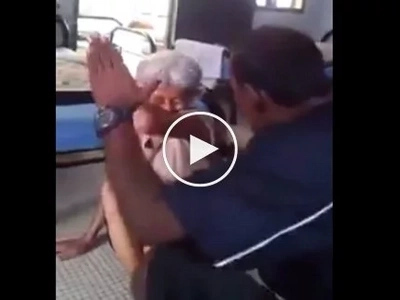 Netizens decry the brutal abuse this elderly receives from her caregiver