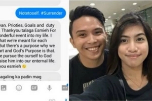 Grieving ex-girlfriend of brutally killed Adamson University student posts touching message